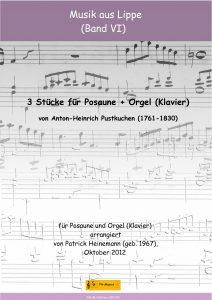 3 Stücke für Posaune + Orgel